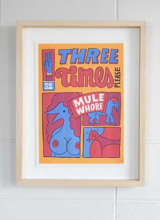 PR-77-012-THREE-TIMES-FRAMED